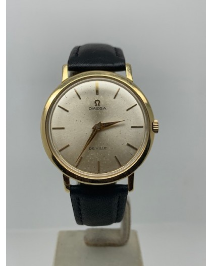 Omega 34mm MANUAL 18K GOLD YEAR 1968