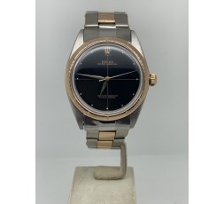 Rolex Oyster Perpetual 34MM ROSE GOLD STEEL YEAR 1967 VERY RARE