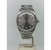 Rolex Air King Precision 34MM GREY DIAMOND DIAL