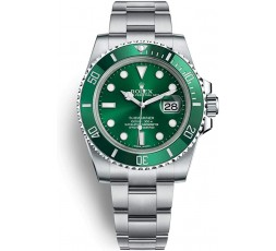 "Rolex Submariner ""hulk"" Mk1 Year 2011 Discontinued Full Set"