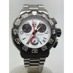 TAG Heuer Formula 1 CHRONO 41MM WHITE DIAL